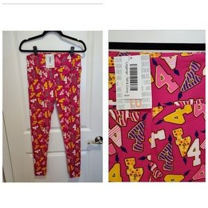 LulaRoe Tall&Curvy BDAy leggings